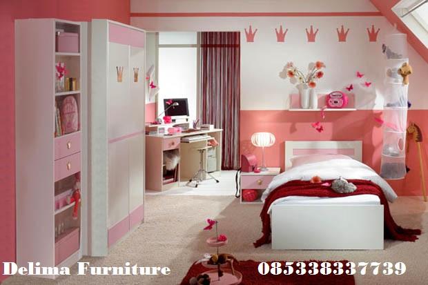Set kamar Tidur Anak Perempuan Cantik