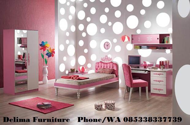Set kamar Tidur Anak Perempuan Mempesona