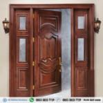 Pintu Rumah Klasik Modern Kayu Jati