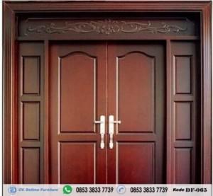 Pintu Rumah Kupu Tarung Minimalis Terbaru