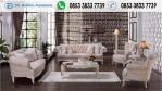 Sofa Tamu Klasik Modern Full Cover