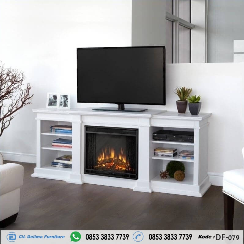 Bufet Tv Minimalis Terbaru Cabinet Stand Cat Duco