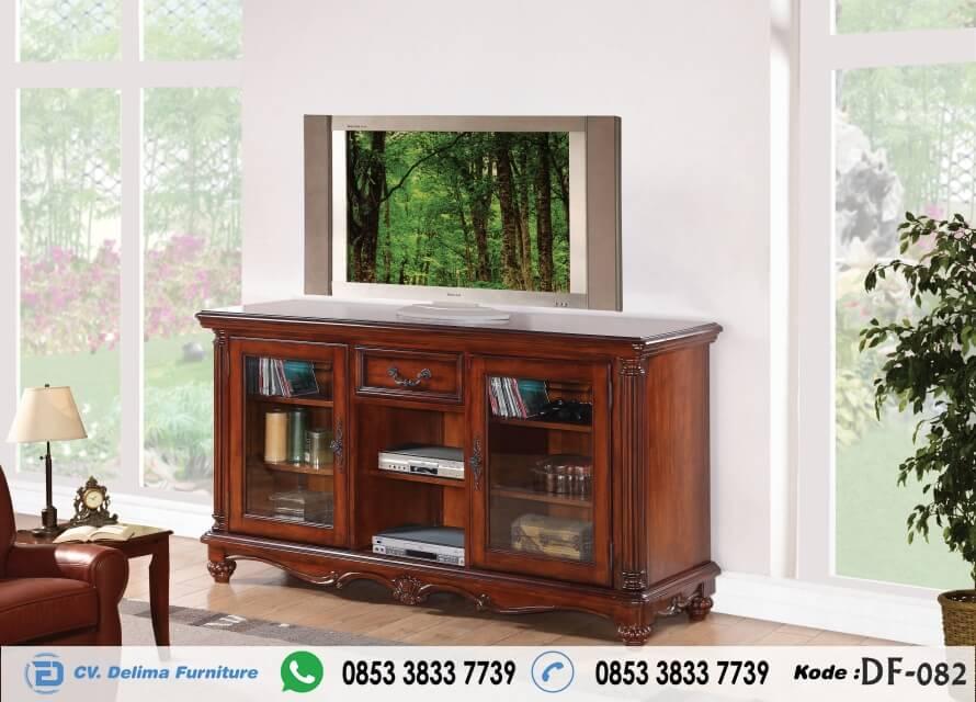 Bufet Tv Minimalis Terbaru Cabinet Stand kayu Jati