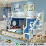 Tempat Tidur Tingkat Minimalis Model Setir Kapal