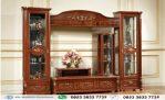 Bufet Tv Klasik Cabinet Kayu Jati