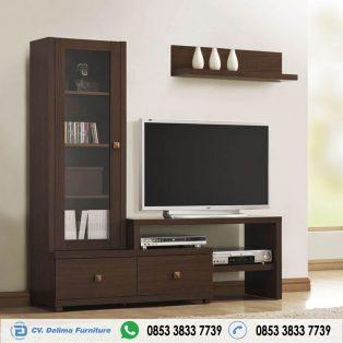 Bufet Tv Minimalis Jati Model L