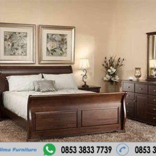 Set Tempat Tidur Kayu Jati Bagong