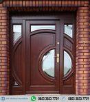 Kusen Pintu Single Utama Bulat Unik