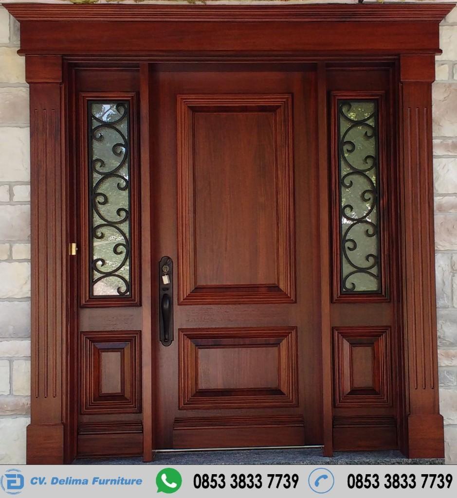 Kusen Pintu Utama Daun Single Modern