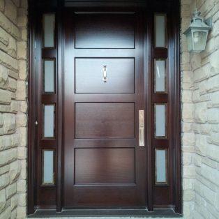 Pintu Rumah Utama Kusen Single Minimalis