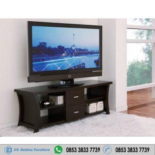 Bufet Tv Minimalis Lengkung Samping