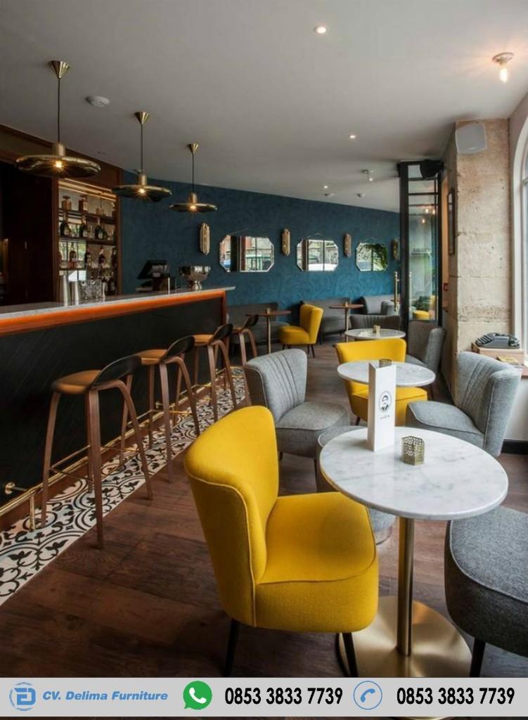 Desain Kursi Sofa Cafe