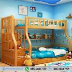 Tempat Tidur Tingkat Kayu Mindy Harga Murah