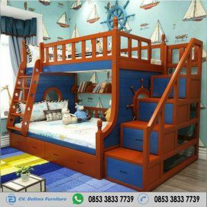 Tempat Tidur Tingkat Minimalis Setir Kapal