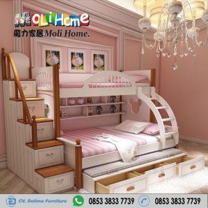 Tempat Tidur Tingkat Moli Home 3 Kasur