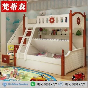 Tempat Tidur Tingkat Unik Minimalis Murah