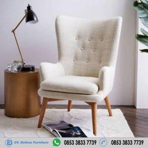 Kursi Sofa Singel Retro Modern