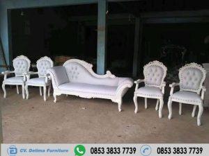 Kursi Pelaminan Angsa Warna Putih