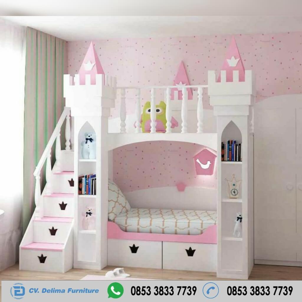 Tempat Tidur Tingkat Ranjang Susun Kasur Anak DF-TT003
