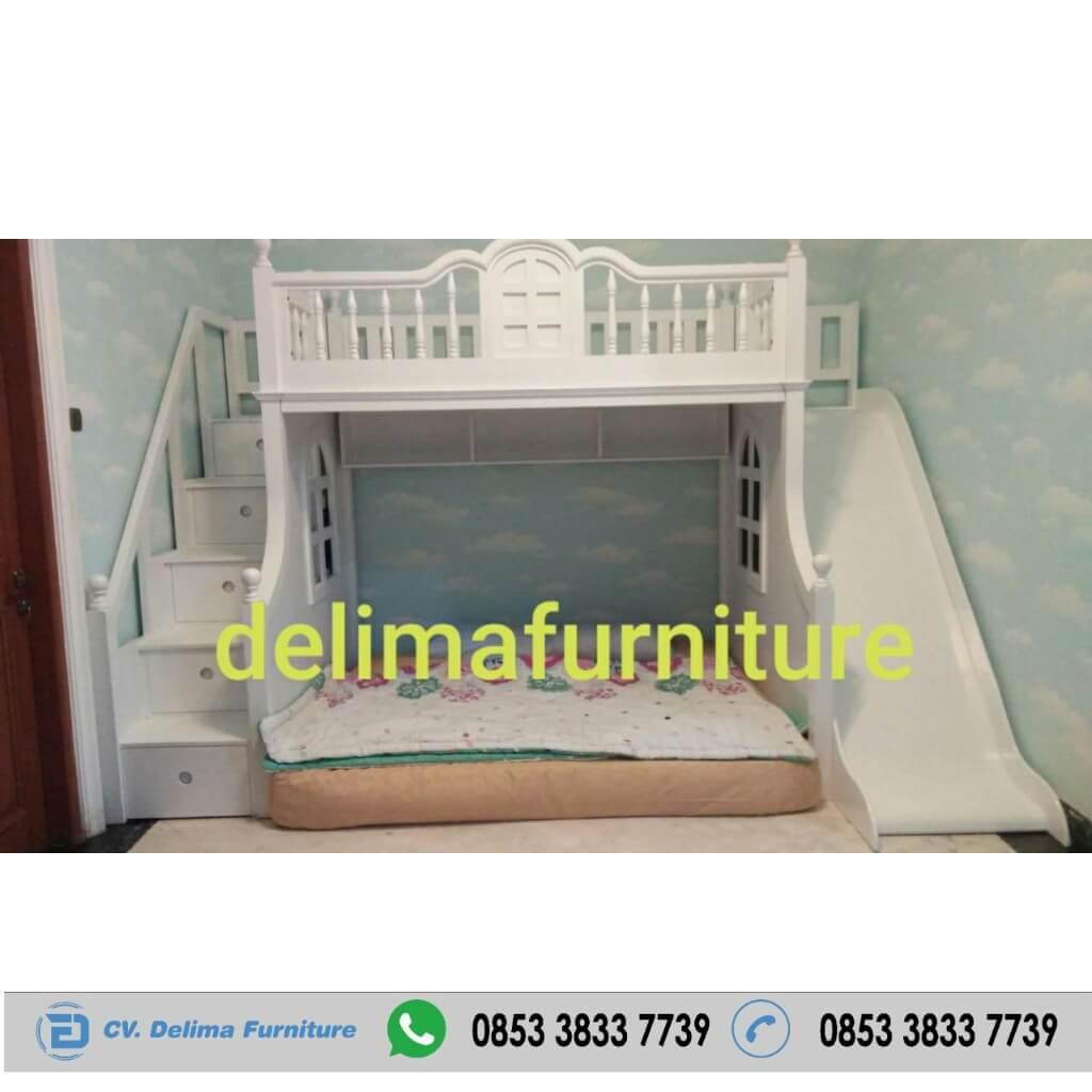 Tempat Tidur Tingkat Ranjang Susun Kasur Anak DF-TT006