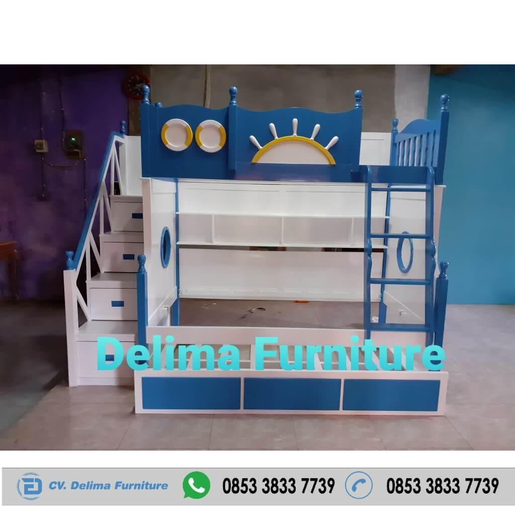 Tempat Tidur Tingkat Ranjang Susun Kasur Anak DF-TT016 Depok