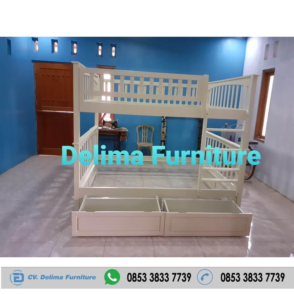 Tempat Tidur Tingkat Ranjang Susun Kasur Anak DF-TT009
