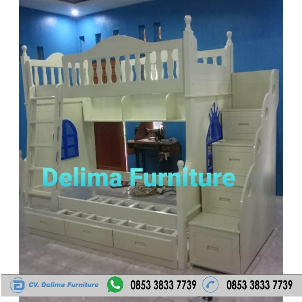Tempat Tidur Tingkat Ranjang Susun Kasur Anak DF-TT010 Jogja