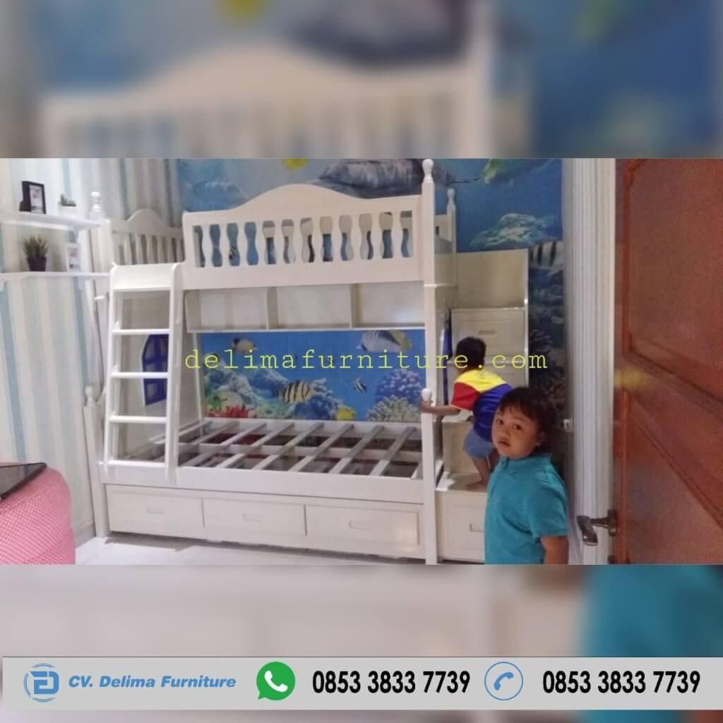 Tempat Tidur Tingkat Ranjang Susun Kasur Anak DF-TT019 Jakarta