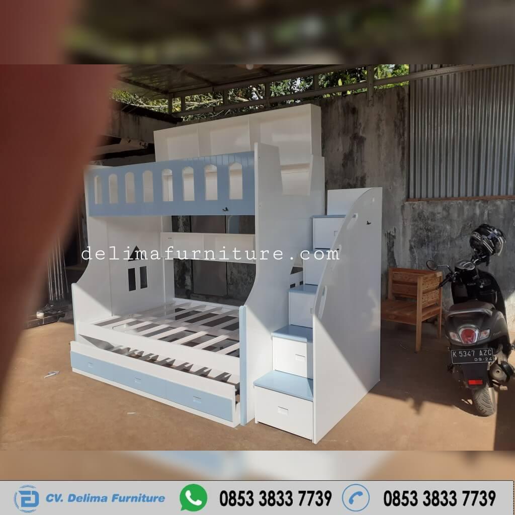 Tempat Tidur Tingkat Ranjang Susun Kasur Anak DF-TT012 Surabaya