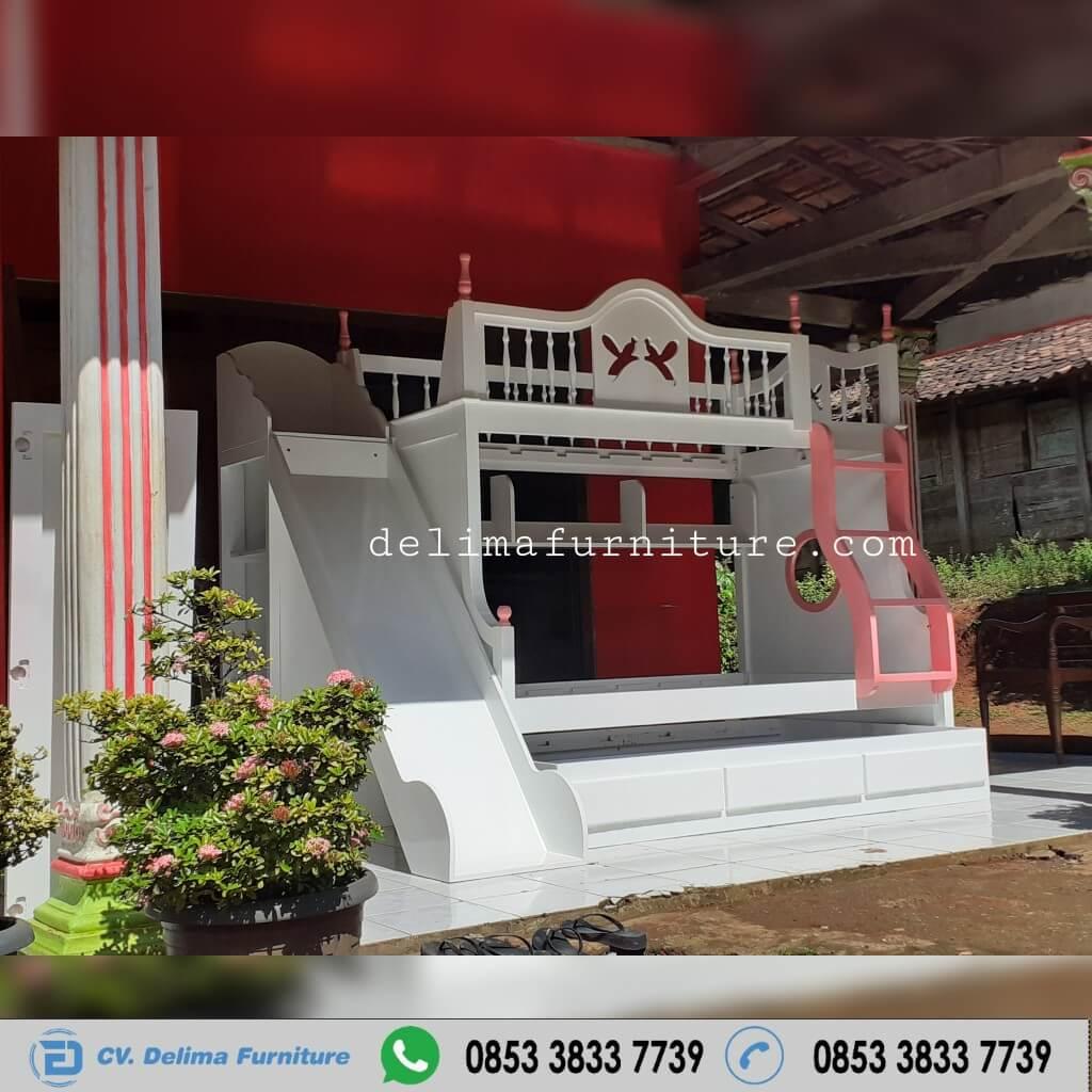 Tempat Tidur Tingkat Ranjang Susun Kasur Anak DF-TT014 Bogor