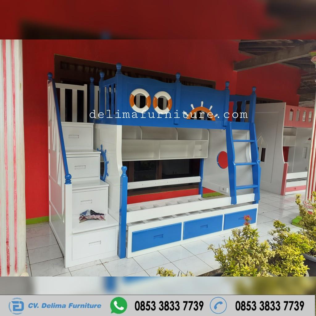 Tempat Tidur Tingkat Ranjang Susun Kasur Anak DF-TT001 Semarang
