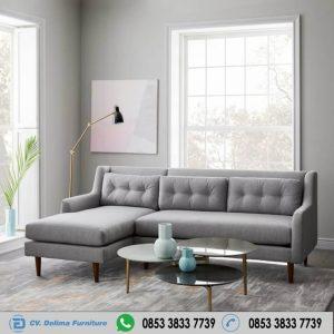 Kursi Tamu Sofa Model Sudut Retro Modern