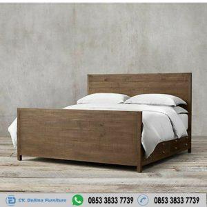 Ranjang Tidur Minimalis Antik Jepara
