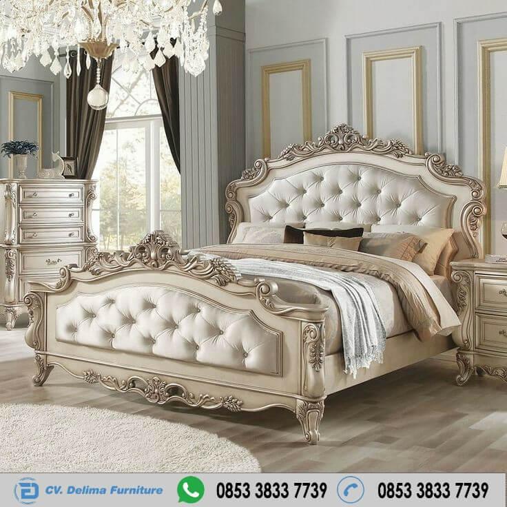 Tempat Tidur Klasik Ranjang Ukiran Jepara