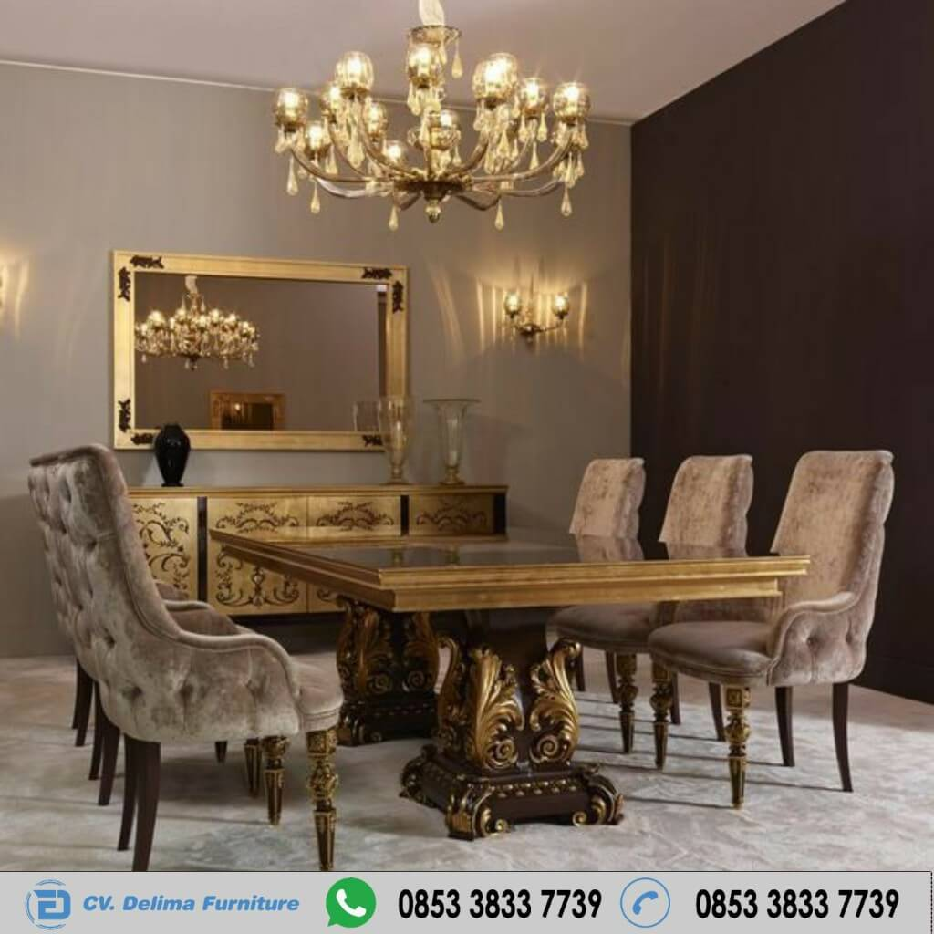 Meja Kursi Makan Top French Dining Room