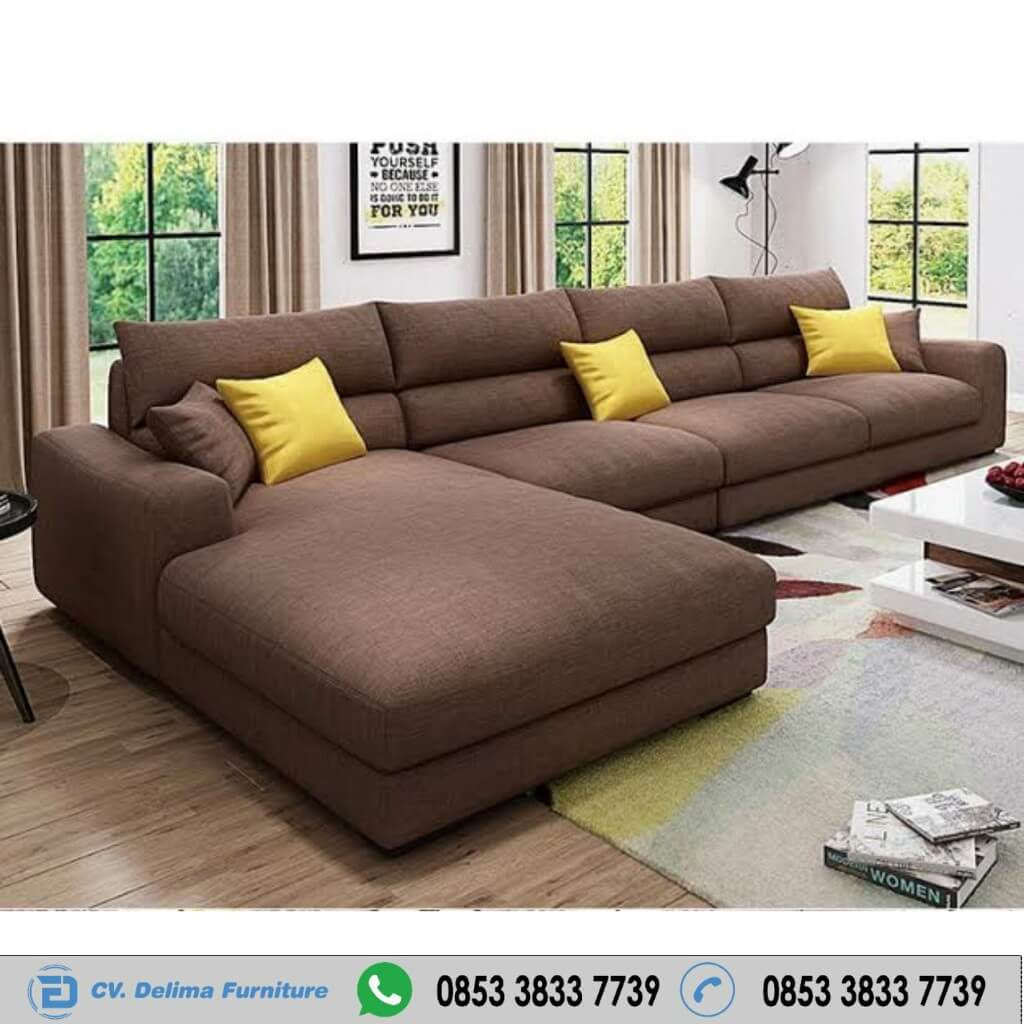 Sofa Keluarga Kursi Santai Modern Lebar Jumbo