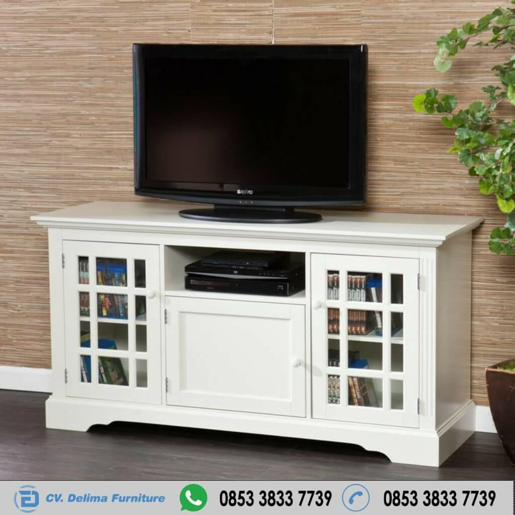 Bufet Tv Minimalis Putih Duco Bersih