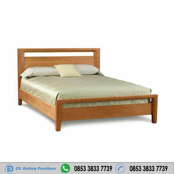 Tempat Tidur Minimalis Beds Kayu Jati