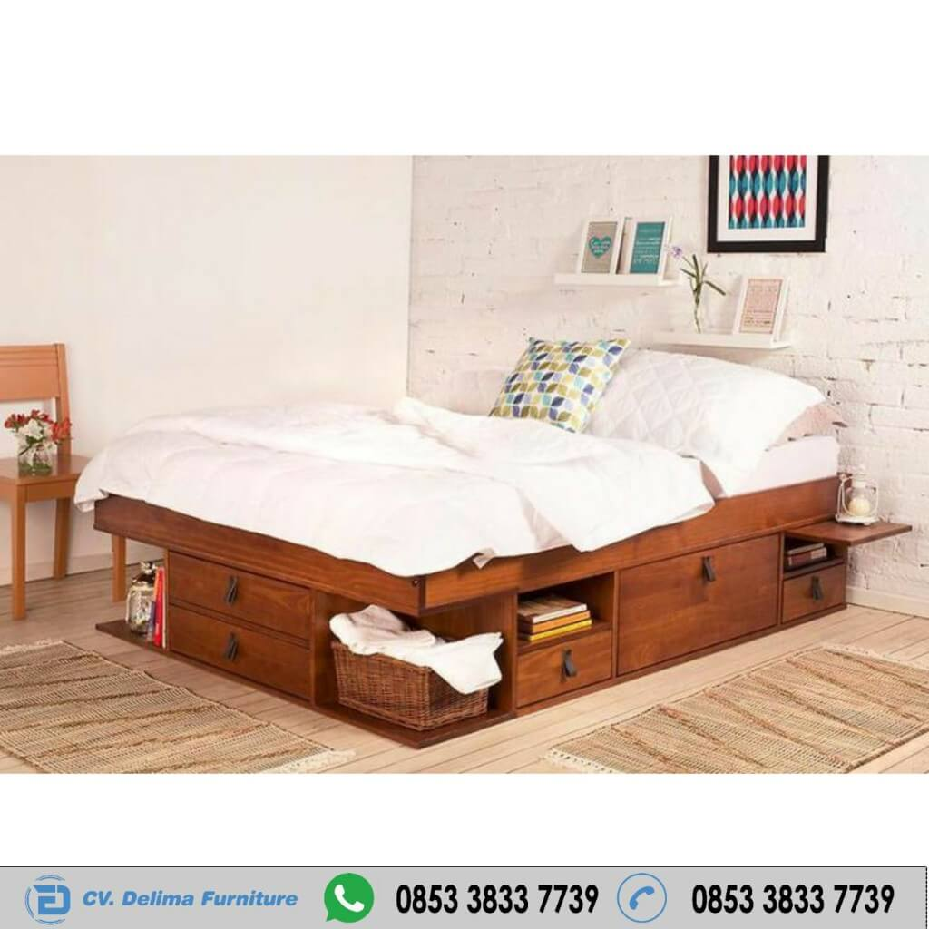Tempat Tidur Minimalis Serbaguna Copper